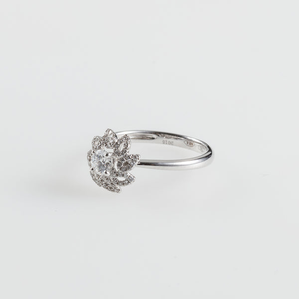 Twisted Flower Ring from Piero Milano.