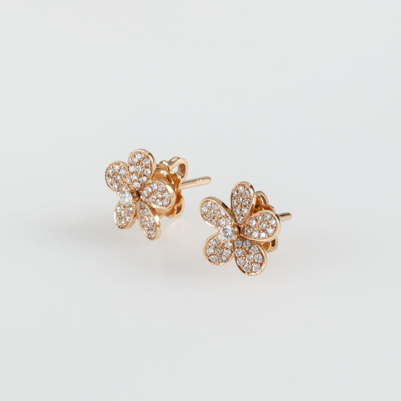 Twisted Petals Earrings-Comercianti De Diamante