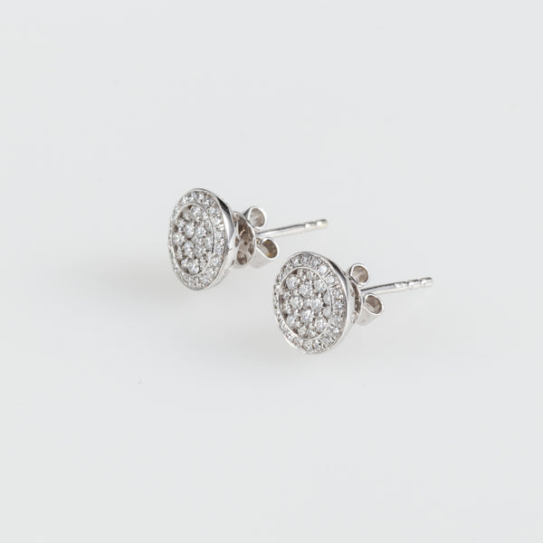Tiny Galaxy Earrings-Comercianti De Diamante