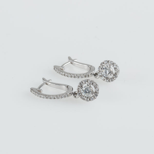 Dome Galaxy Earrings-Comercianti De Diamante