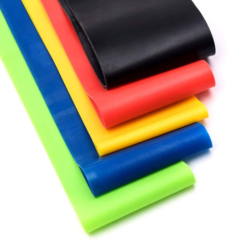 RESISTANCE BAND SET (5 LEVELS)