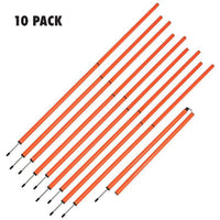 BASIC SLALOM POLE SET - 10 PACK