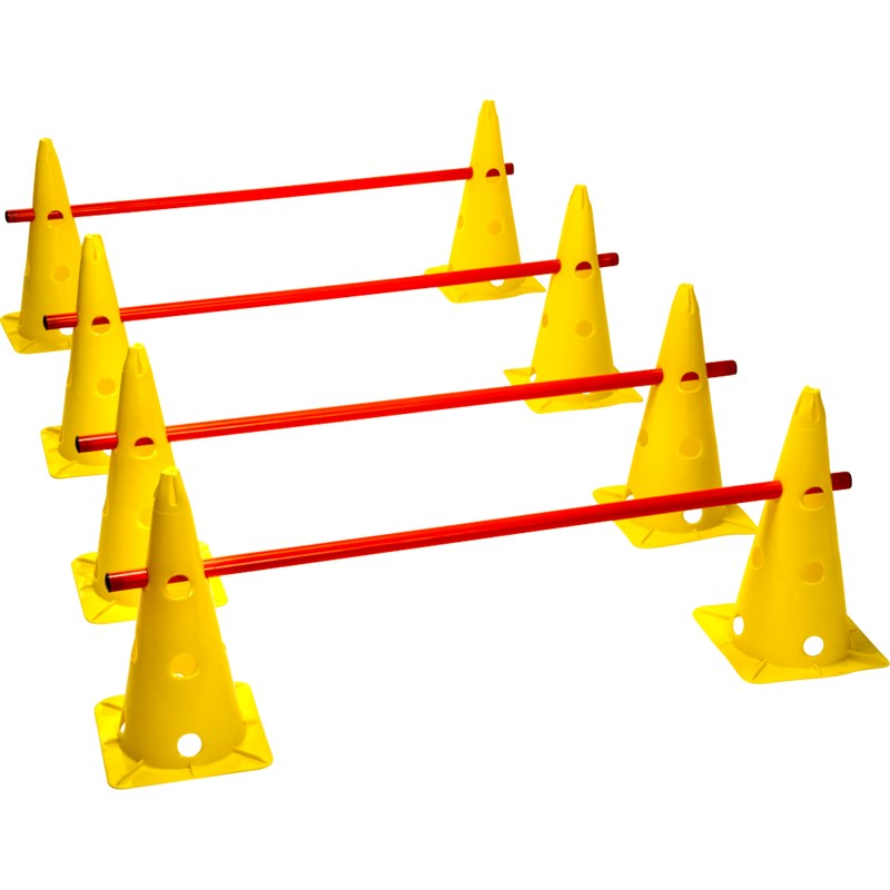 LARGE TRAINING CONES - 4 PACK