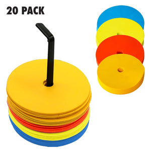 FLAT MARKER SET - 20 PACK