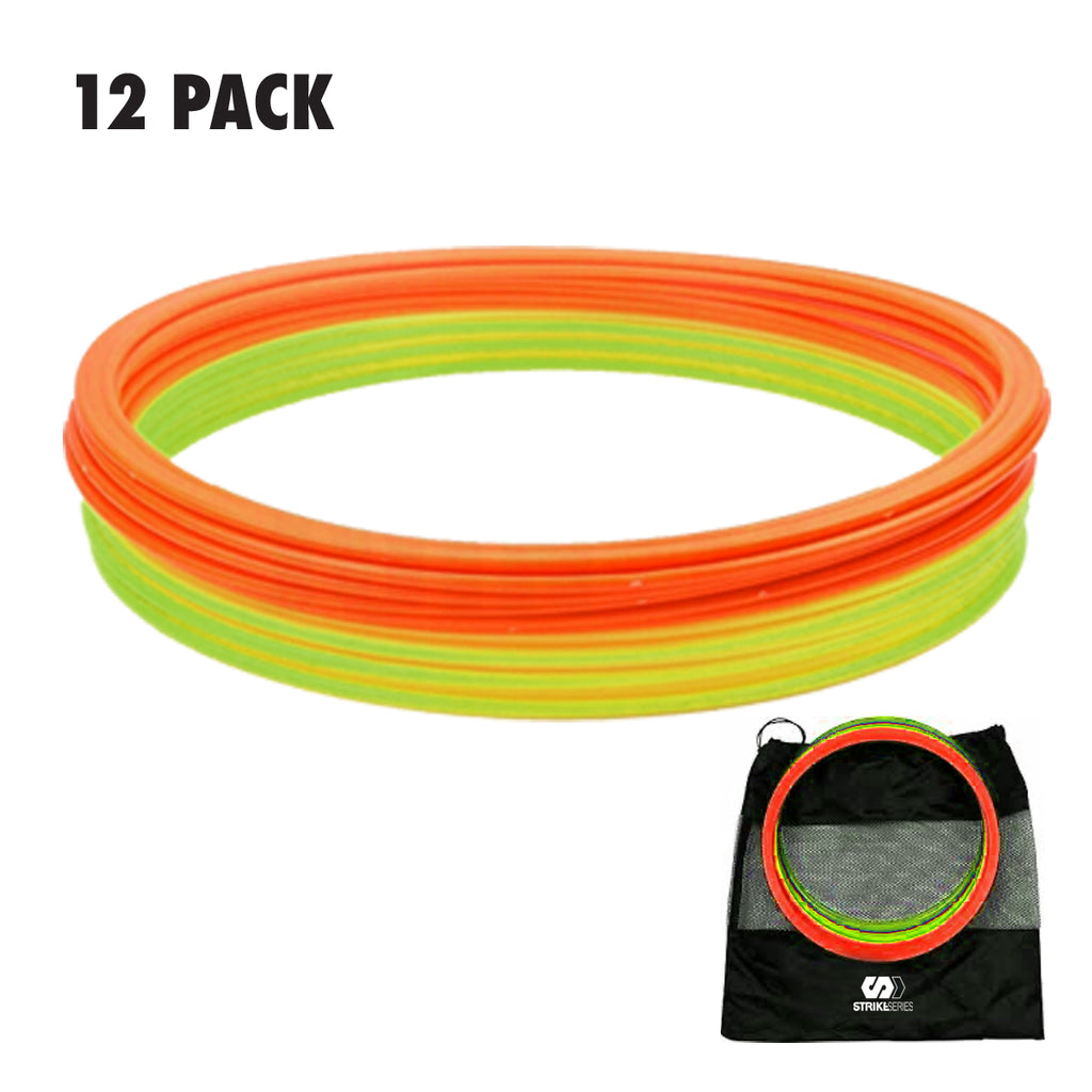 PRO AGILITY RING SET - 12 PACK
