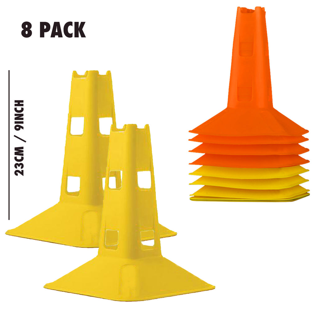 ELITE SQUARE CONE SET - 8 PACK