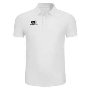 STRIKE SERIES POLO SHIRT - WHITE