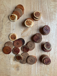 Hand-carved Buttons