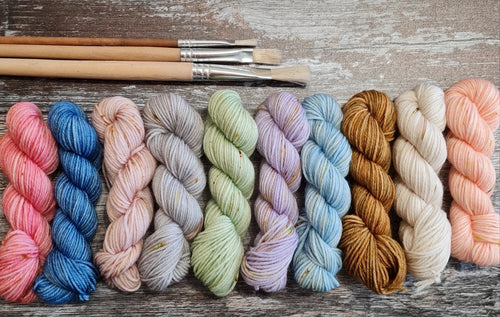 Ducky Darling Yarns - Paintbox Minis (4 ply Yarn)