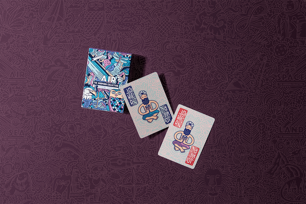 Harmony Collection Land Playing Cards