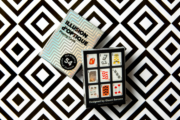 Illusion d'Optique Playing Cards