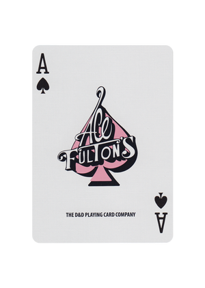Ace Fulton's Casino Pink Playing Cards