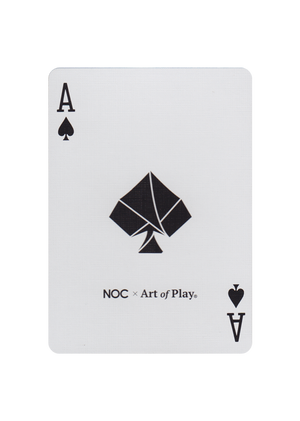 NOC Colorgrades Desert Orange Playing Cards