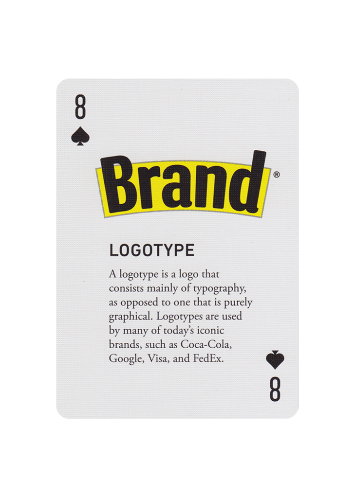The Font Deck of Playing Cards