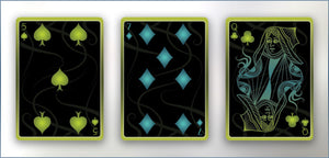 Tendril Ascendant and Nightfall Set Playing Cards