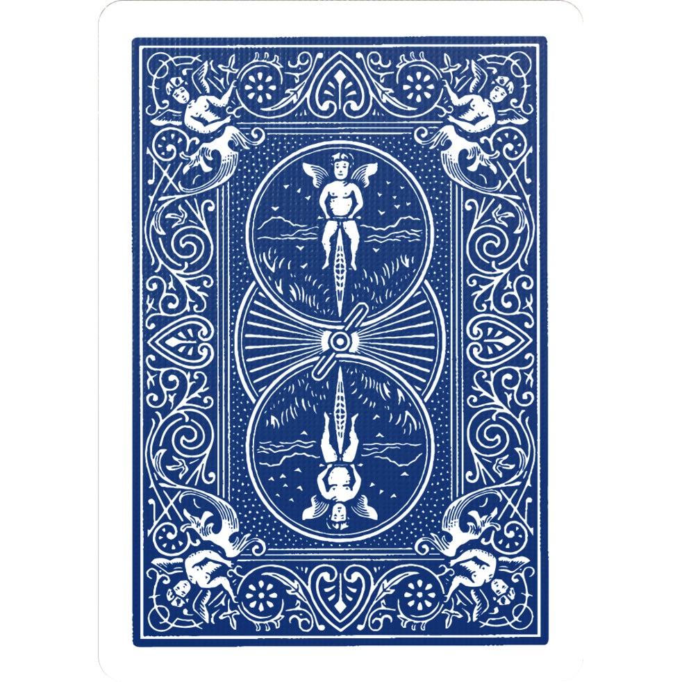 Bicycle Gaff Rider Back Blue Playing Cards