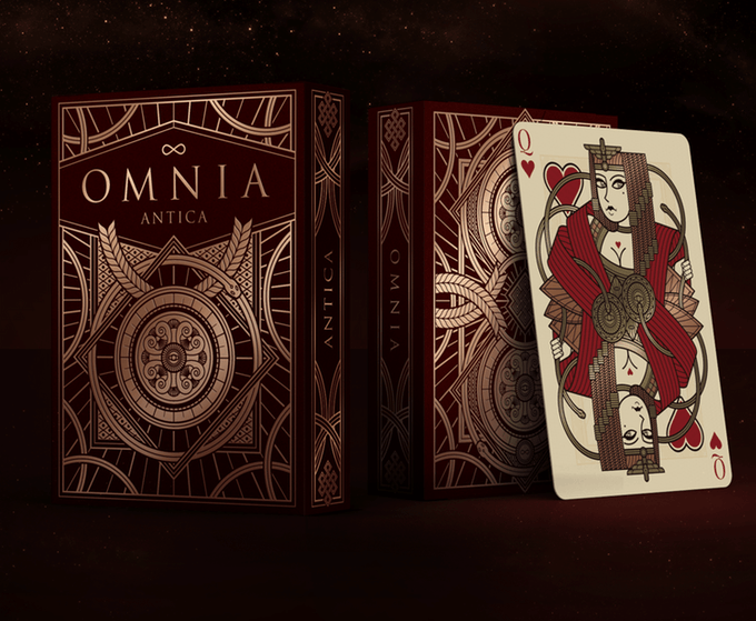 Omnia The Golden Age Set (3 Decks) Playing Cards