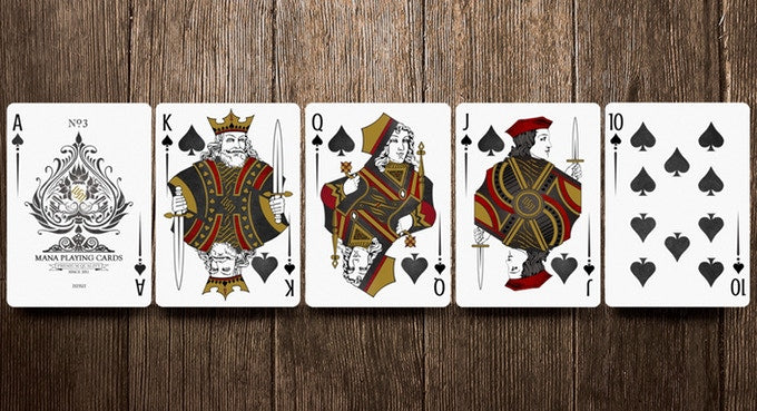 Mana Sybil Private Reserve Set Playing Cards