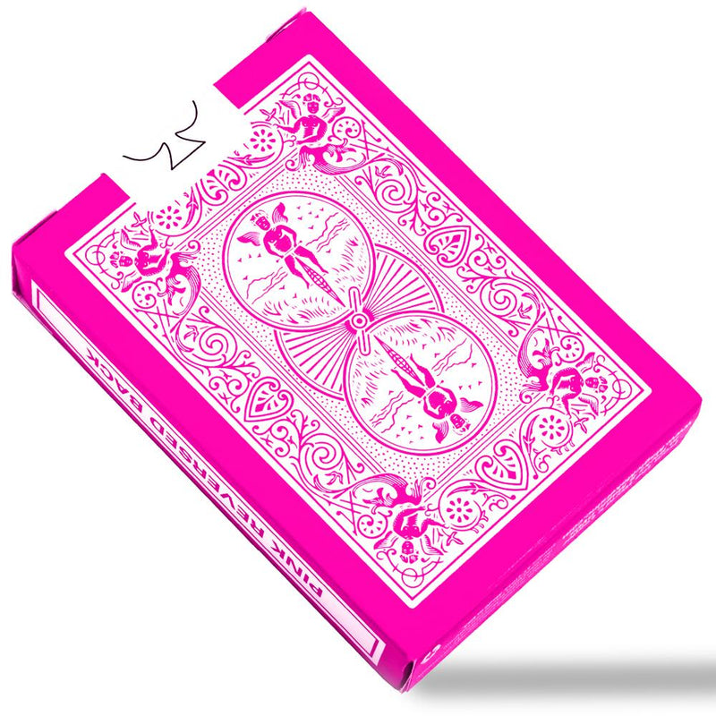 Bicycle Reversed Pink Playing Cards