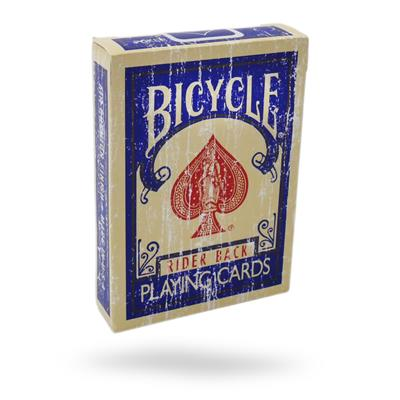 Bicycle Faded Rider Back Blue Playing Cards