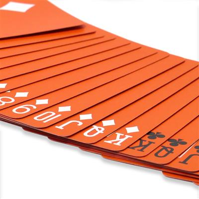 Bicycle Reversed Back Orange Playing Cards