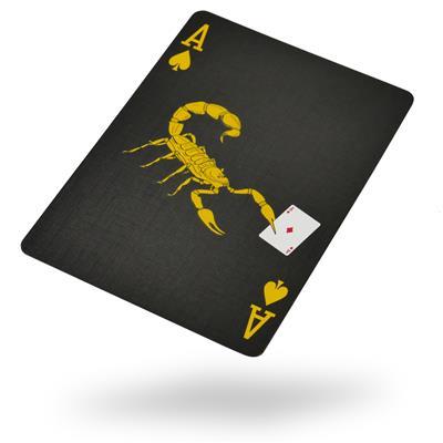 Bicycle Black Scorpion Playing Cards