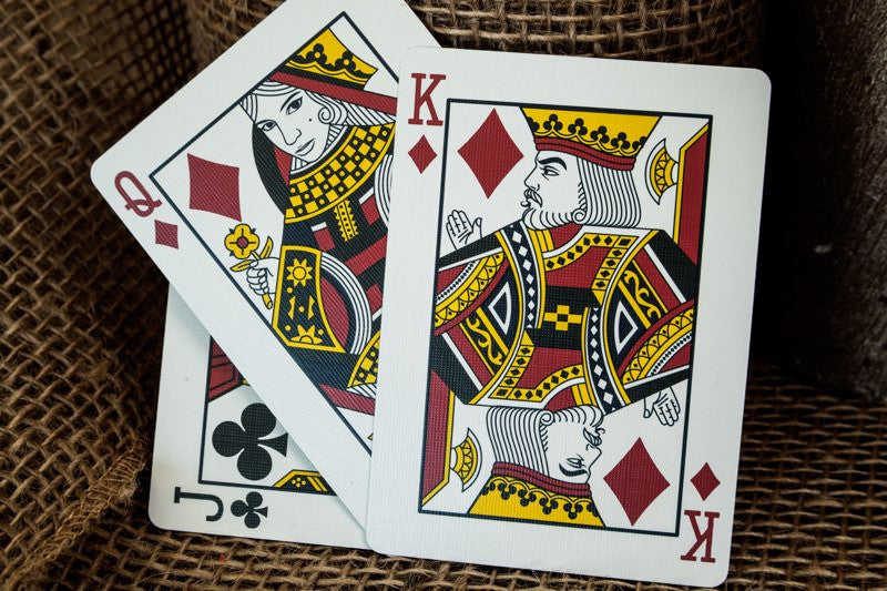 Madison Players Playing Cards