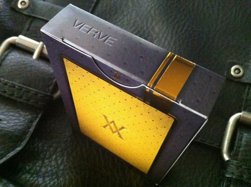 Verve Shine Yellow Playing Cards
