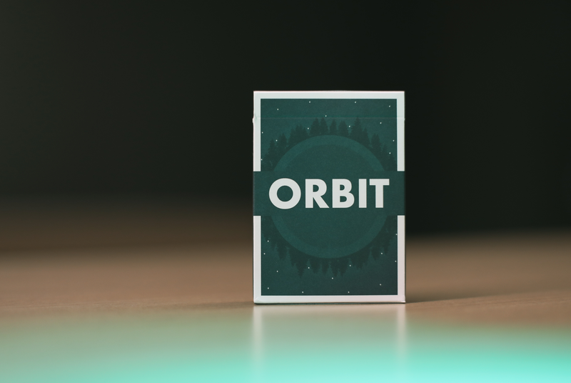 The Orbit Sixth Edition Playing Cards