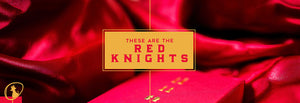 Knights Red Playing Cards