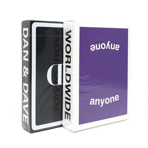 Logo Purple + Mirror Playing Cards Set