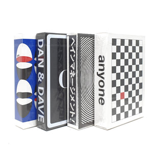 Checkerboard Black + Headlong + Mirror + 6006 Playing Cards Set