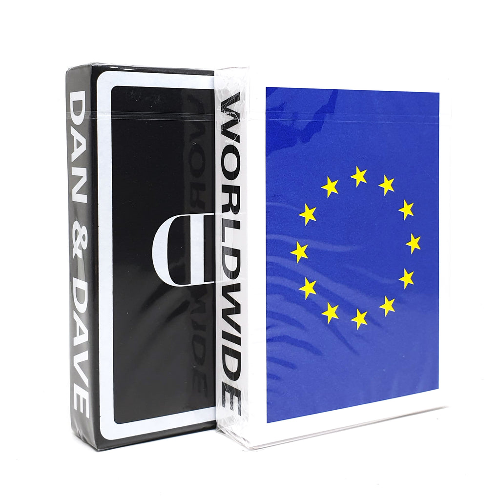 Souvenir EU + Mirror Playing Cards Set