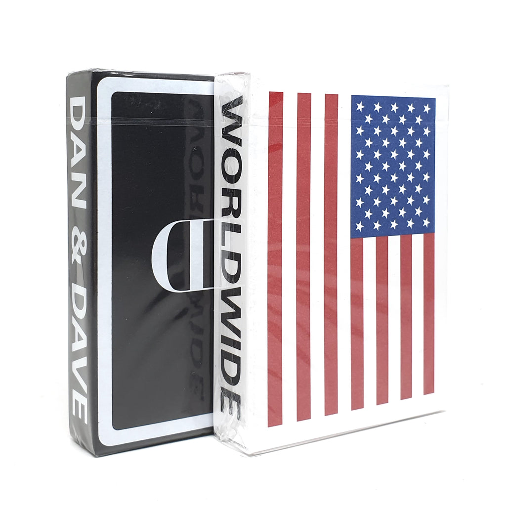 Souvenir US + Mirror Playing Cards Set