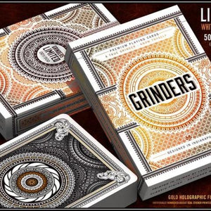 Grinders Gold Edition Playing Cards