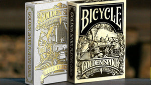 Golden Spike Set (3 Decks) Playing Cards