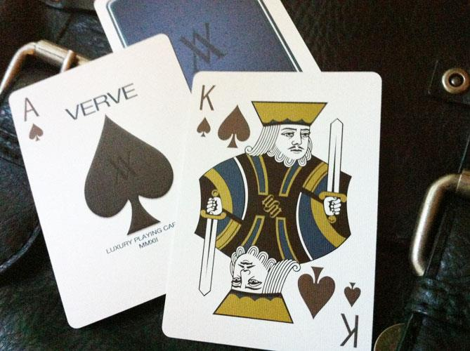 Verve Brio Blue Playing Cards