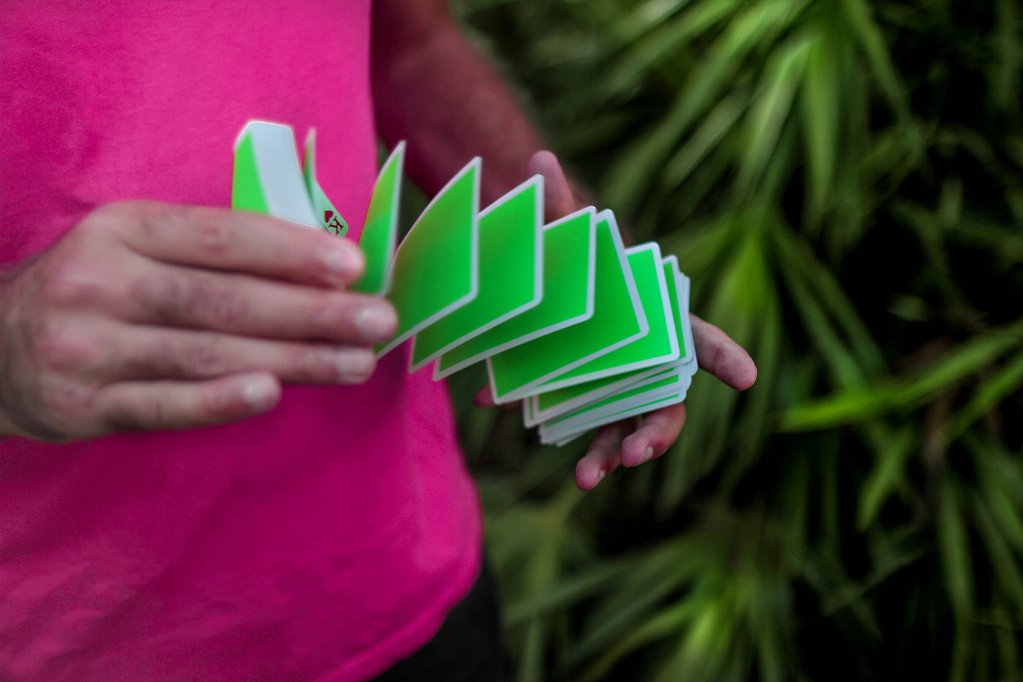 NOC Sport: Green Playing Cards