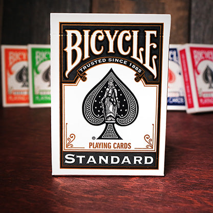 Bicycle Colored Rider Back Black Playing Cards