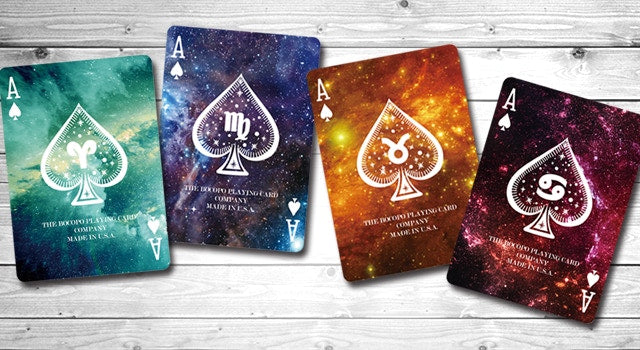 Bicycle Constellation Series Aquarius Playing Cards