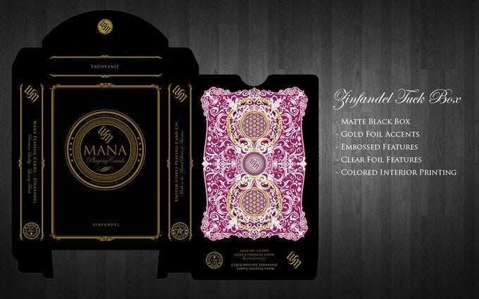 Mana Zinfandel Playing Cards