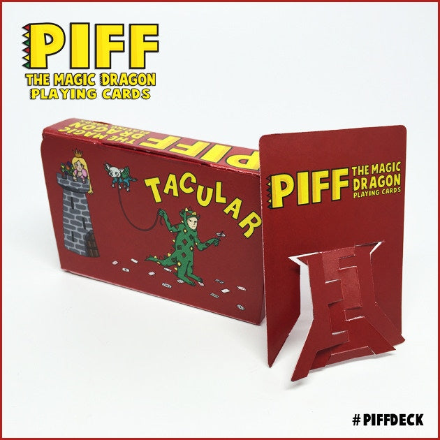 Piff the Magic Dragon Playing Cards