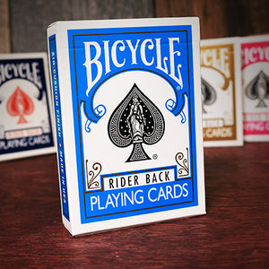 Bicycle Colored Rider Back Turquoise Playing Cards
