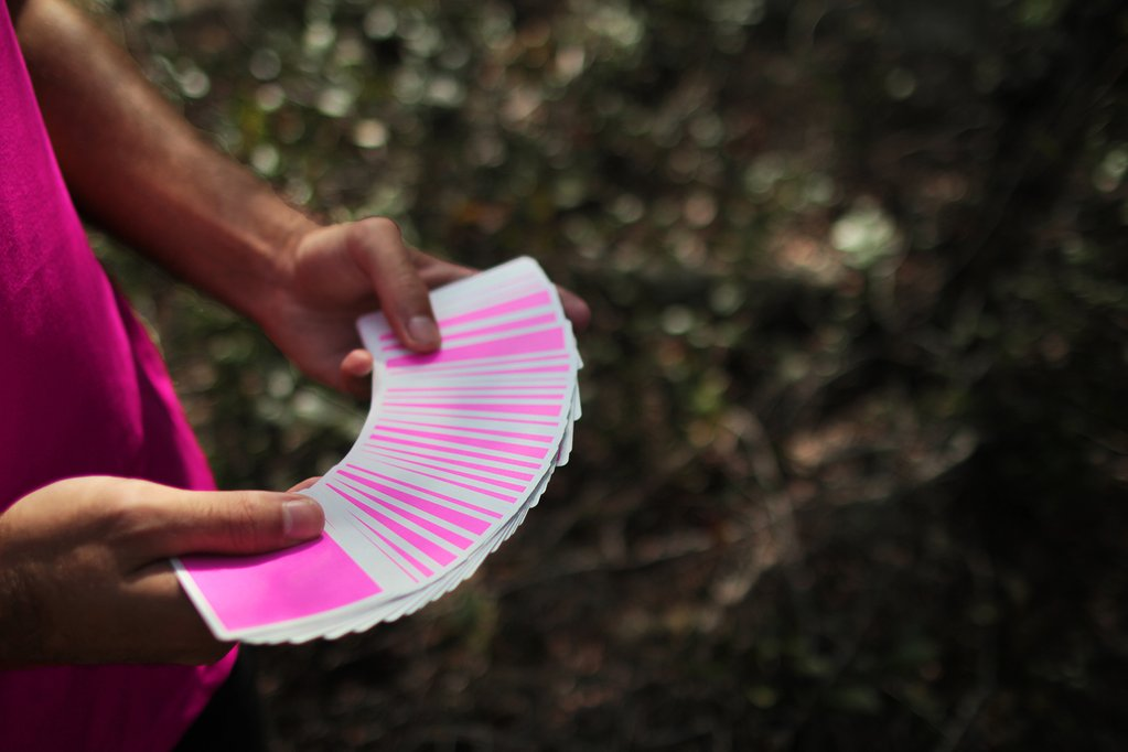 NOC Sport: Pink Playing Cards