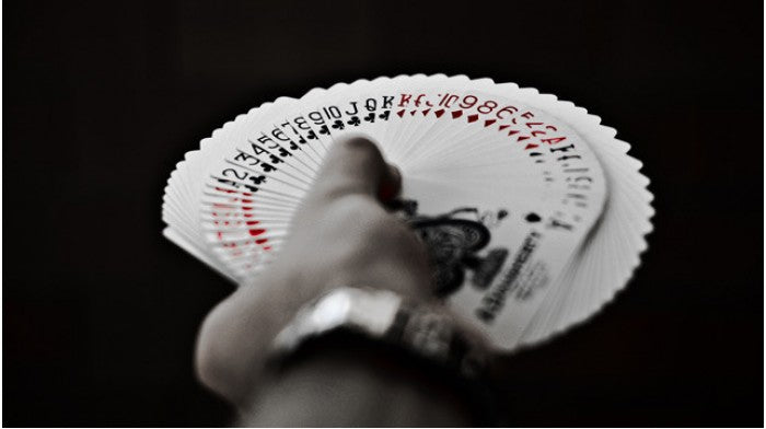 Tally-Ho Fan Back Red Playing Cards