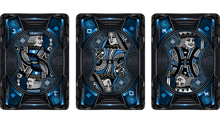 Bicycle Evolution Blue Playing Cards