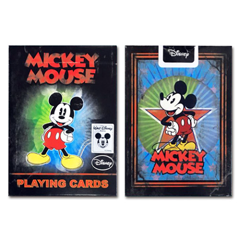 Disney Mickey Mouse Playing Cards USPCC
