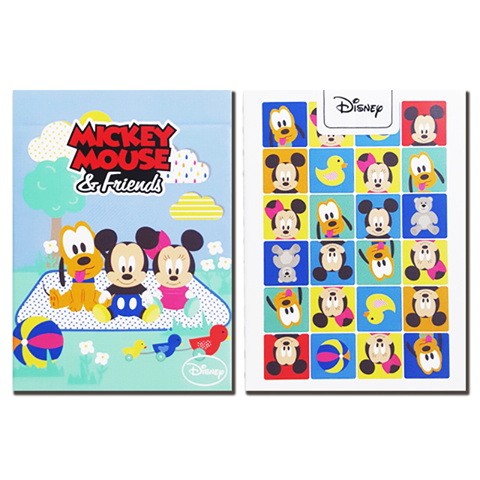 Disney Mickey Mouse and Friends Baby Playing Cards