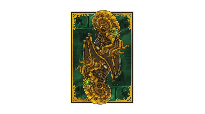 Steampunk Cthulhu Resurrection Playing Cards