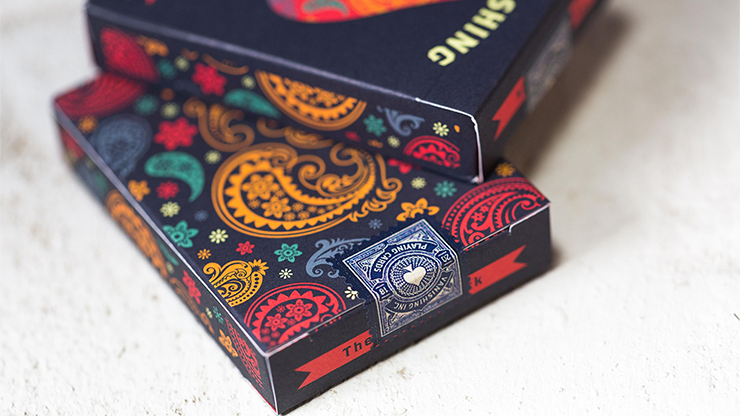 Dapper Blue (Marked) Playing Cards